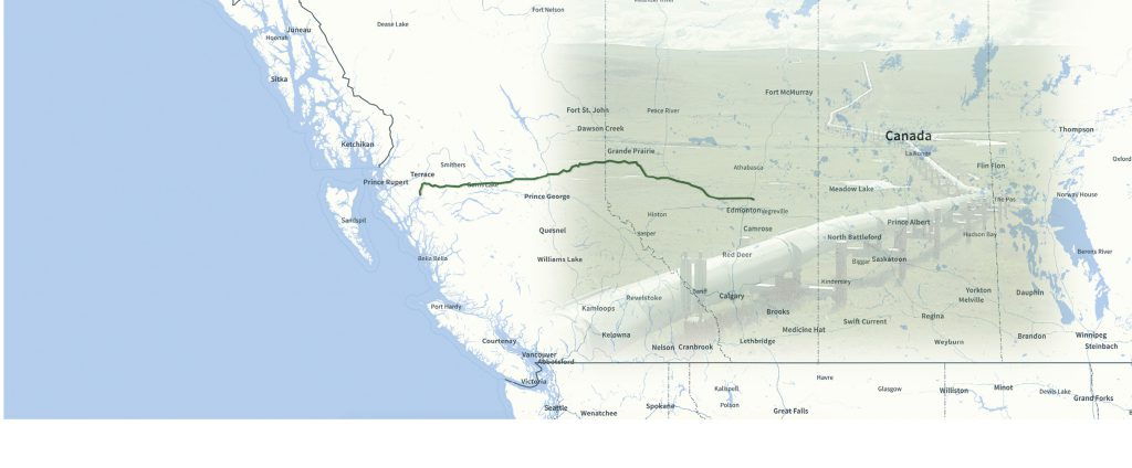 projet Northern Gateway d'Enbridge