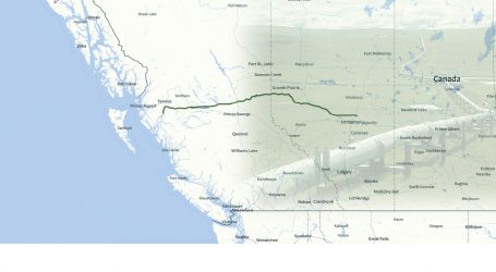 Le projet Northern Gateway d'Enbridge
