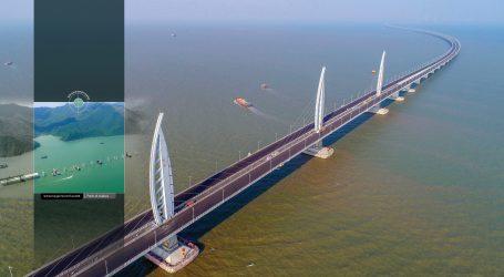 Nouveau lien  routier entre  Hong Kong, Zhuhai et Macao