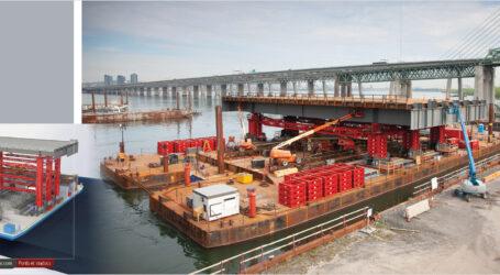 L'ancien pont Champlain doit maintenant disparaître