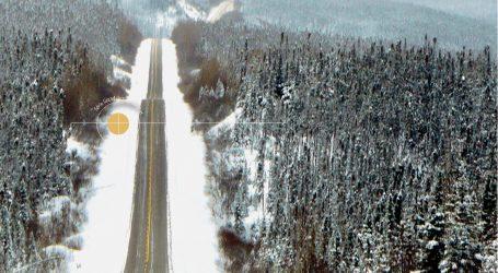 L'amélioration de la route 389
